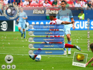 Awesome Soccer Main Menu