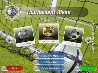 Awesomer Soccer Tournament Menu